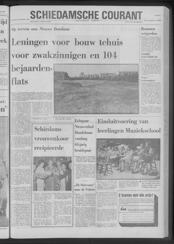 Rotterdamsch Nieuwsblad / Schiedamsche Courant / Rotterdams Dagblad / Waterweg / Algemeen Dagblad 1970-09-28