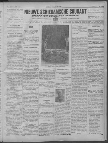 Nieuwe Schiedamsche Courant 1932-01-05