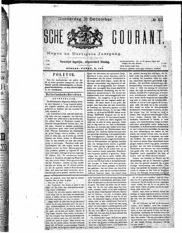 Schiedamsche Courant 1885-12-31