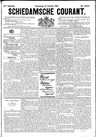 Schiedamsche Courant 1910-10-12