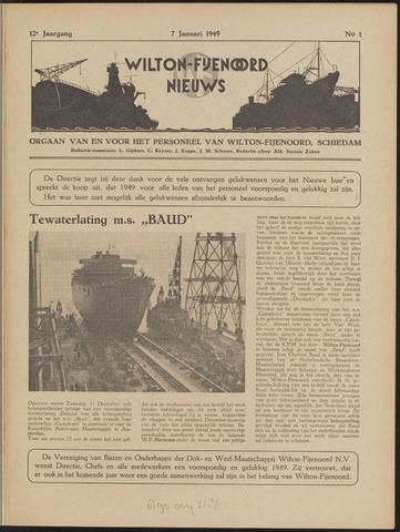 Wilton Fijenoord Nieuws 1949-01-01