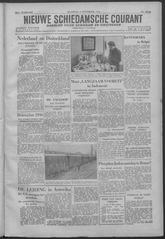 Nieuwe Schiedamsche Courant 1946-11-04