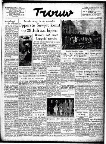 Trouw / De Rotterdammer 1953-07-15