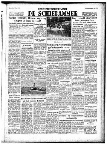 Rotterdamsch Parool / De Schiedammer 1948-06-30
