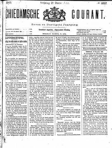 Schiedamsche Courant 1883-12-21