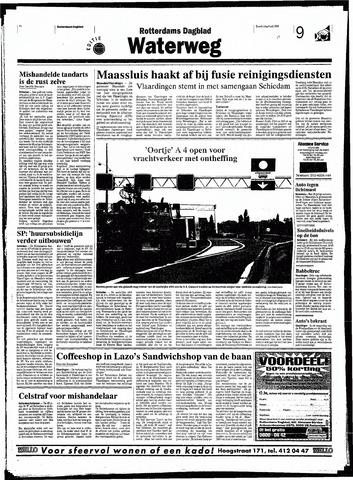 Rotterdamsch Nieuwsblad / Schiedamsche Courant / Rotterdams Dagblad / Waterweg / Algemeen Dagblad 1998-07-09