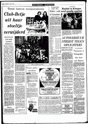 Rotterdamsch Parool / De Schiedammer 1966-02-05