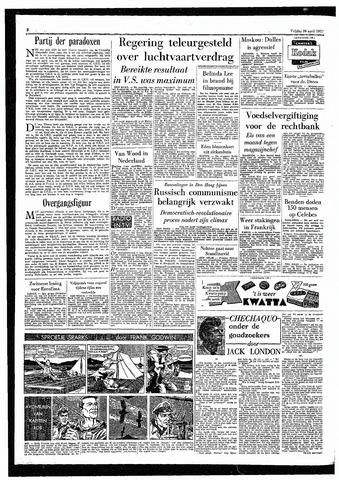 Rotterdamsch Parool / De Schiedammer 1957-04-26