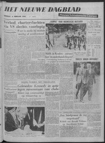 Nieuwe Schiedamsche Courant 1962-02-06