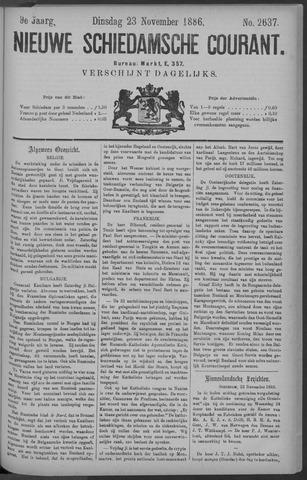 Nieuwe Schiedamsche Courant 1886-11-23