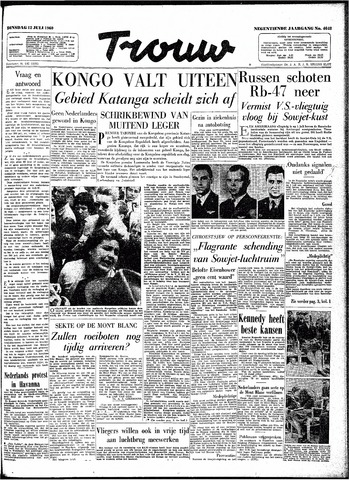 Trouw / De Rotterdammer 1960-07-12