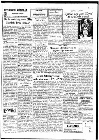 Rotterdamsch Nieuwsblad / Schiedamsche Courant / Rotterdams Dagblad / Waterweg / Algemeen Dagblad 1966-04-04
