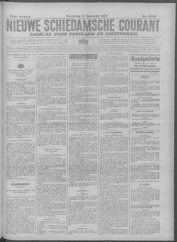 Nieuwe Schiedamsche Courant 1929-09-26
