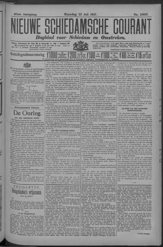 Nieuwe Schiedamsche Courant 1917-07-23