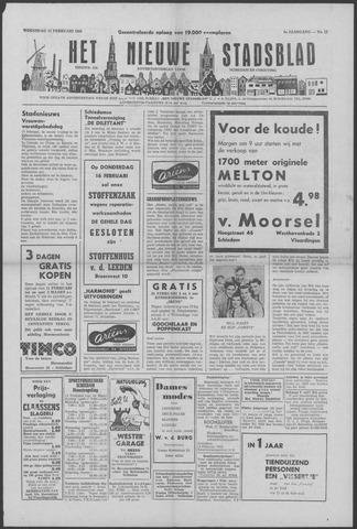 Het Nieuwe Stadsblad 1956-02-15