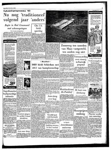 Rotterdamsch Parool / De Schiedammer 1963-07-22