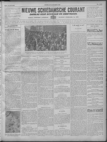 Nieuwe Schiedamsche Courant 1932-10-25