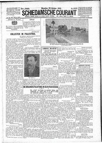 Schiedamsche Courant 1933-10-30