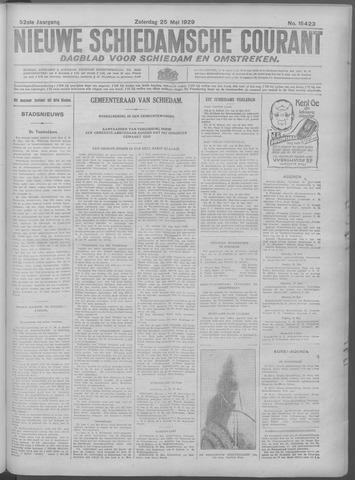 Nieuwe Schiedamsche Courant 1929-05-25