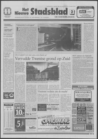 Het Nieuwe Stadsblad 1995-01-12