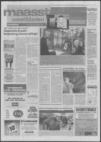Maaspost / Maasstad / Maasstad Pers 2002-10-09