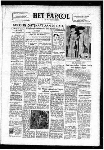 Rotterdamsch Parool / De Schiedammer 1946-10-16