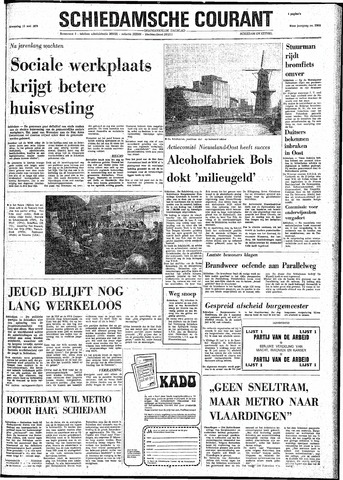 Rotterdamsch Nieuwsblad / Schiedamsche Courant / Rotterdams Dagblad / Waterweg / Algemeen Dagblad 1974-05-15