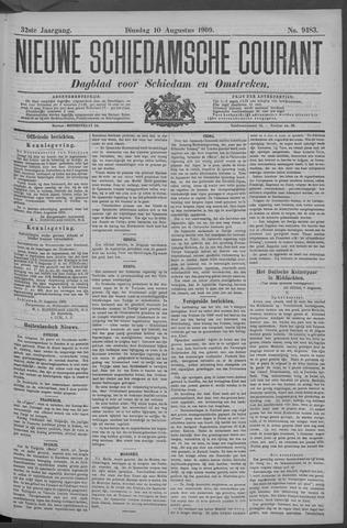 Nieuwe Schiedamsche Courant 1909-08-10