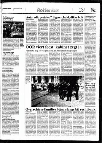 Rotterdamsch Nieuwsblad / Schiedamsche Courant / Rotterdams Dagblad / Waterweg / Algemeen Dagblad 1993-02-13