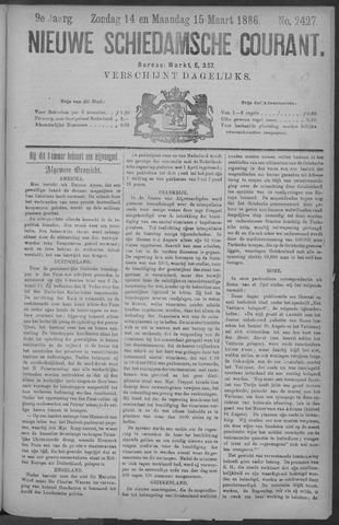 Nieuwe Schiedamsche Courant 1886-03-15