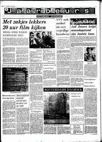 Rotterdamsch Parool / De Schiedammer 1968-03-02