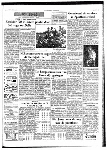 Rotterdamsch Nieuwsblad / Schiedamsche Courant / Rotterdams Dagblad / Waterweg / Algemeen Dagblad 1959-04-13