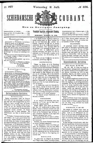 Schiedamsche Courant 1877-07-11