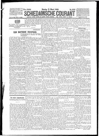 Schiedamsche Courant 1933-03-21