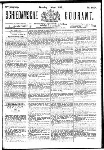 Schiedamsche Courant 1898-03-01