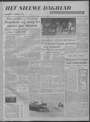 Nieuwe Schiedamsche Courant 1962-01-02