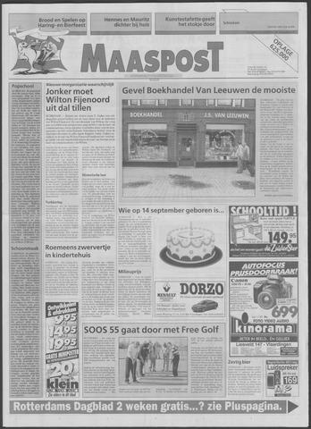 Maaspost / Maasstad / Maasstad Pers 1995-08-30