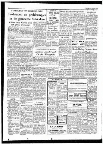 Rotterdamsch Parool / De Schiedammer 1955-10-22