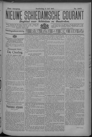 Nieuwe Schiedamsche Courant 1917-07-05