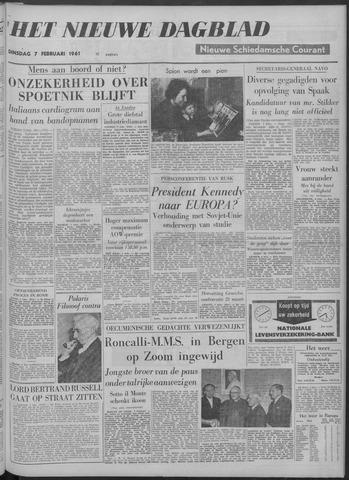 Nieuwe Schiedamsche Courant 1961-02-07
