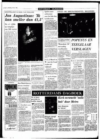 Rotterdamsch Parool / De Schiedammer 1968-02-01