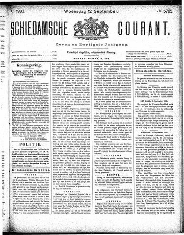 Schiedamsche Courant 1883-09-12