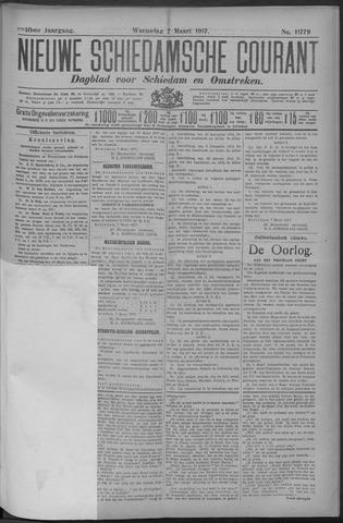 Nieuwe Schiedamsche Courant 1917-03-07