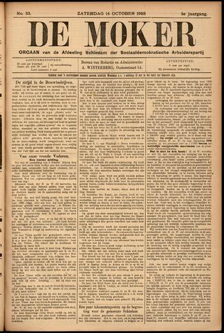 De Moker 1905-10-14