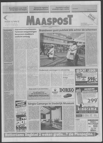 Maaspost / Maasstad / Maasstad Pers 1995-09-13