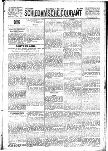Schiedamsche Courant 1929-07-11