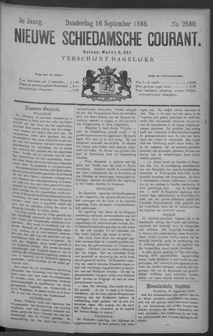 Nieuwe Schiedamsche Courant 1886-09-16