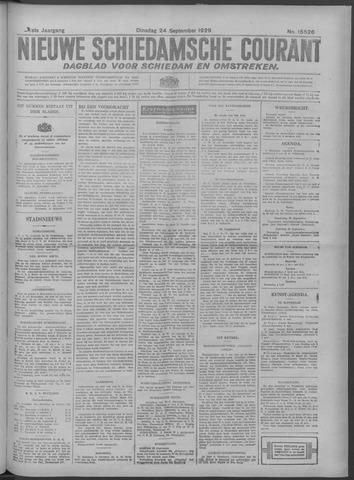 Nieuwe Schiedamsche Courant 1929-09-24