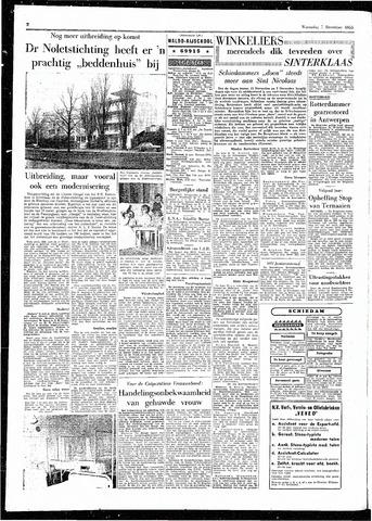 Rotterdamsch Parool / De Schiedammer 1955-12-07