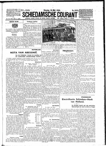 Schiedamsche Courant 1935-05-14